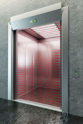 elevator door light curtain