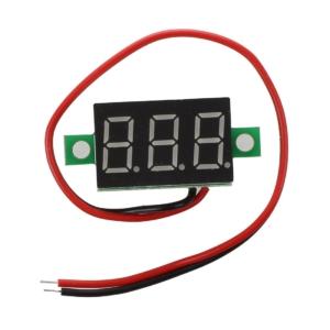 نمایشگر ولتاژ 3 - 30 ولتی