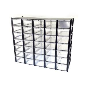 جعبه قطعات 35 کشویی با قابلیت جداسازی