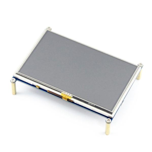 نمایشگر 5 اینچ رزبری پای 480*800 پیکسل