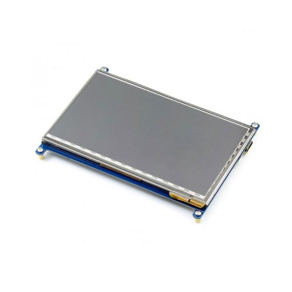 نمایشگر 7 اینچی تاچ با ورودی HTMI رزبری پای
