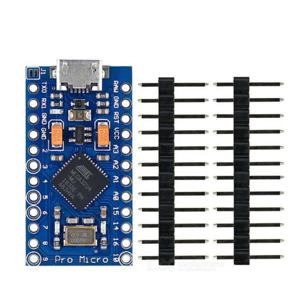 برد آردوینو Pro Micro با پردازنده ATmega32u4
