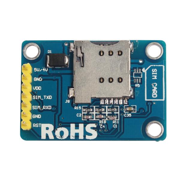 ماژول SIM800L با قابلیت SMS / GPRS / GSM همراه آنتن