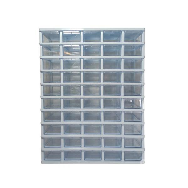 جعبه قطعات 50 کشویی با قابلیت جداسازی