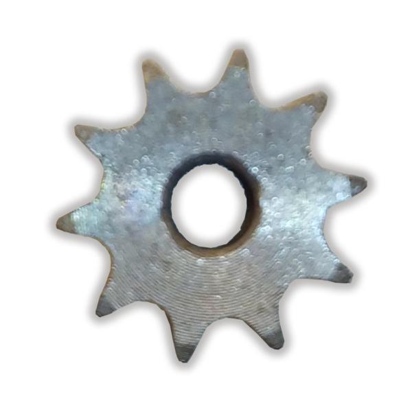 چرخ زنجیر فلنچ دار 10 دندانه سایز 04