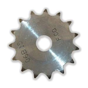 چرخ زنجیر فلنچ دار 15 دندانه سایز 06