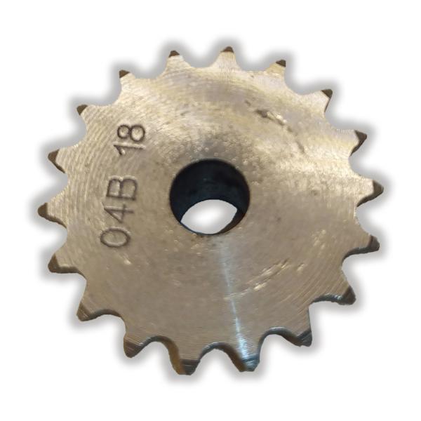 چرخ زنجیر فلنچ دار 18 دندانه سایز 04
