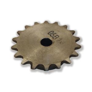 چرخ زنجیر فلنچ دار 18 دندانه سایز 05