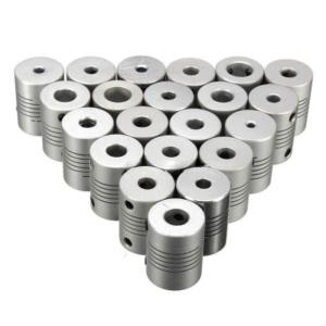 کوپلینگ انعطافپذیر آلومینیومی با قطر 5 به 8