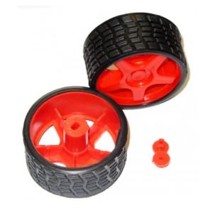 چرخ پلاستیکی ربات طرح ریس