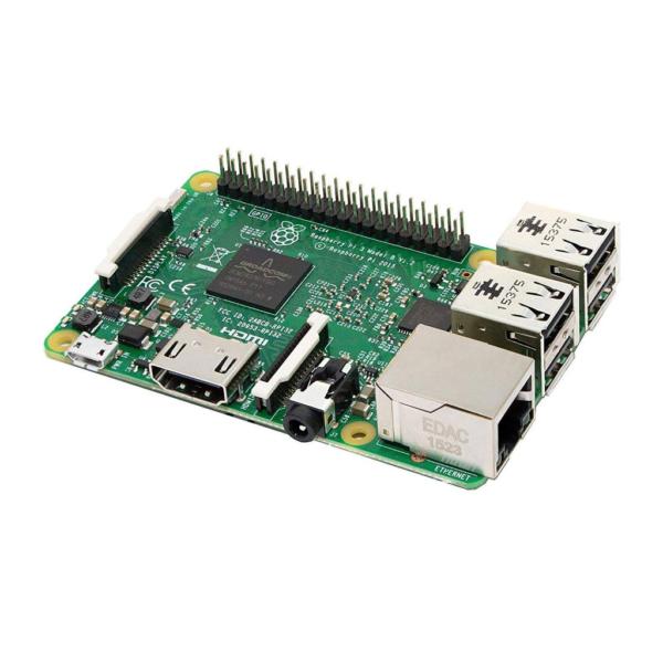برد رزبری پای +Raspberry pi 3 B تولید Rs