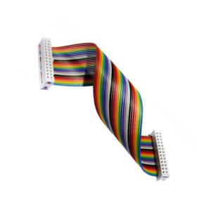 کابل فلت 40 رشته رنگی رزبری پای